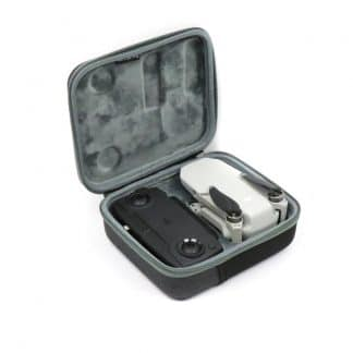 Carry Case for DJI Mavic MIni Exterior with Drone Angled View