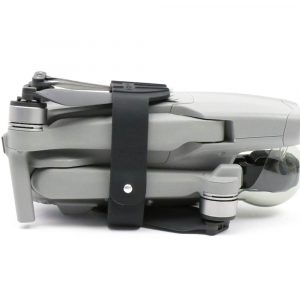 Propeller Fixator for the DJI Mavic Air 2 shown on drone front the side