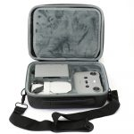 Carry Case Large for DJI MIni 2 Internal View Front with Drone and Remote Showing additional storage