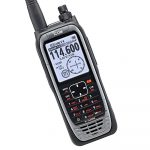 Icom IC-A25NE VHF Airband HandHeld Radio Close Up Front