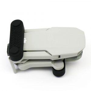 Mavic Mini Mini SE Mini 2 Propeller Fixators set of 2 Shown on the drone from the top side